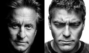 Michael Douglas- George Clooney, Platon Antoniou, Photographer, Πλάτων Αντωνίου, Φωτογράφος