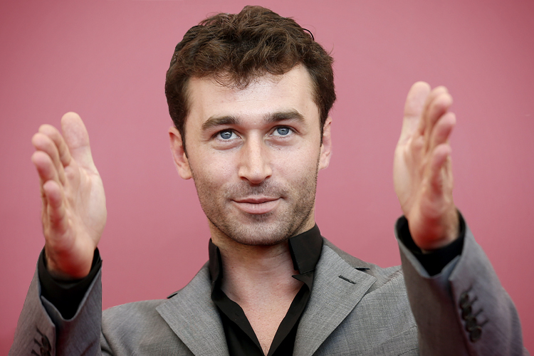 Actor James Deen poses during a photocall during the 70th Venice Film Festival