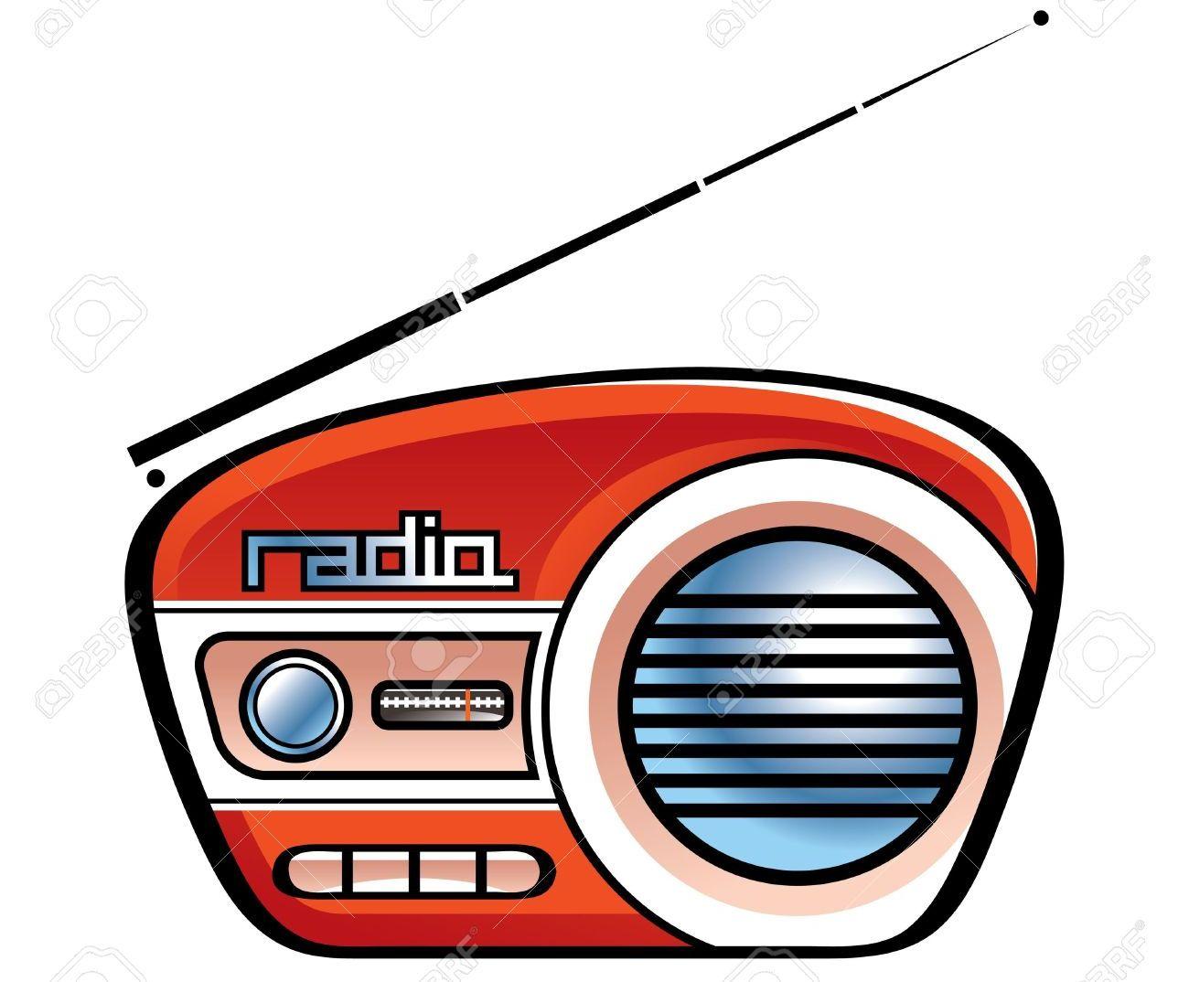 11852100-Funk-Retro-Vintage-Lautsprecher-Musik-News-Stockfoto