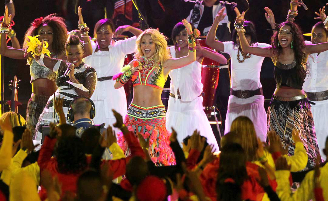 Shakira Mundial