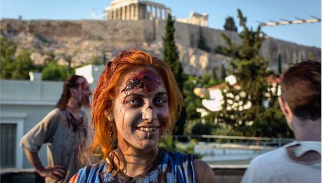 Ζόμπι στην Αθήνα