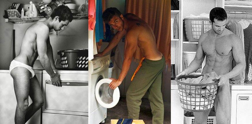 Vintage: Από νωρίς στα βάσανα Από πολύ παλιά ξεκίνησε η προπαγάνδα απ' ότι βλέπετε…. Συγνώμη κούκλα μου, θα είχες αυτούς τους γκόμενους και θα τους έβαζες στην κουζίνα; Κλείδωσε τους χρυσή μου στην κρεβατοκάμαρα και πέτα το κλειδί στον ακάλυπτο! Σίδερο, σκούπα, πιάτα: Το τρίπτυχο της επιτυχίας. Και μετά και τους τρεις μαζί για τρελίτσες! Κούνια που σε κούναγε….. Εδώ κοίτα. Και στην μπουγάδα! Καλά αυτοί δεν είναι άντρες, είναι λαχείο jack pot Και οι τρεις με τα τηγάνια. Εμ τι ήθελες να σου φτιάξουν, μουσακά; Εδώ κοίτα παιδιά σαν τα κρύα τα νερά πως έχουν καταντήσει…… Οι άντρες σιδερώνουν και οι γυναίκες το απολαμβάνουν!