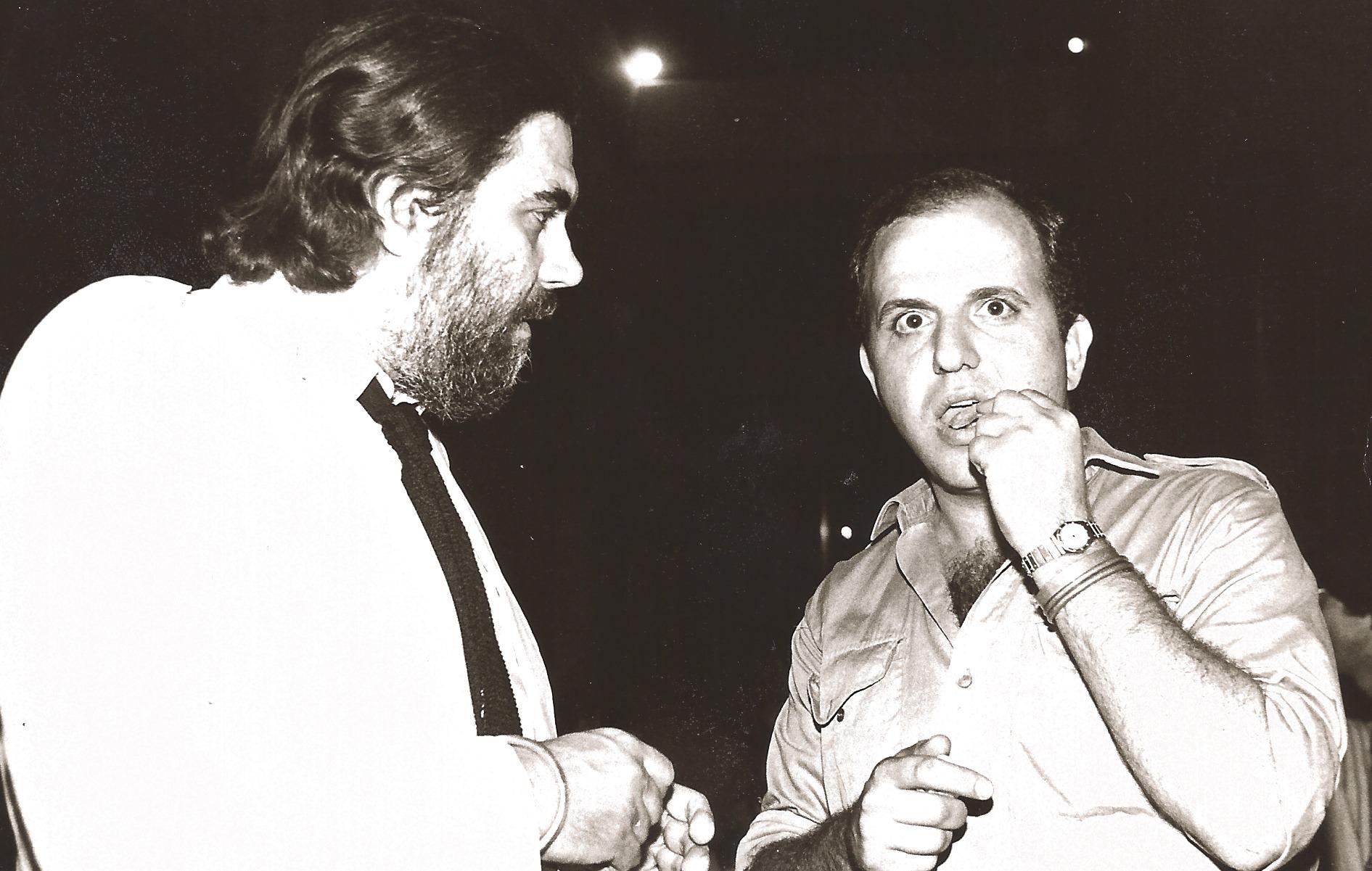 1982 Με τον Βαγγέλη Παπαθανασίου