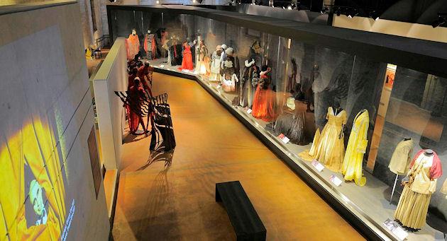 Θεατρικό Μουσείο, Κοστούμια, καμαρίνια, ενθυμήματα, Θέατρο