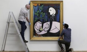 Pablo Picasso, «Nude, Green Leaves and Bust»