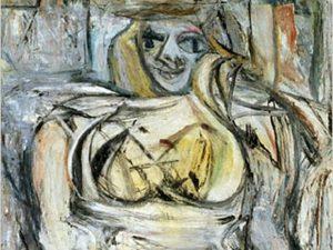 """Willem de Kooning, """"Woman III"""""""