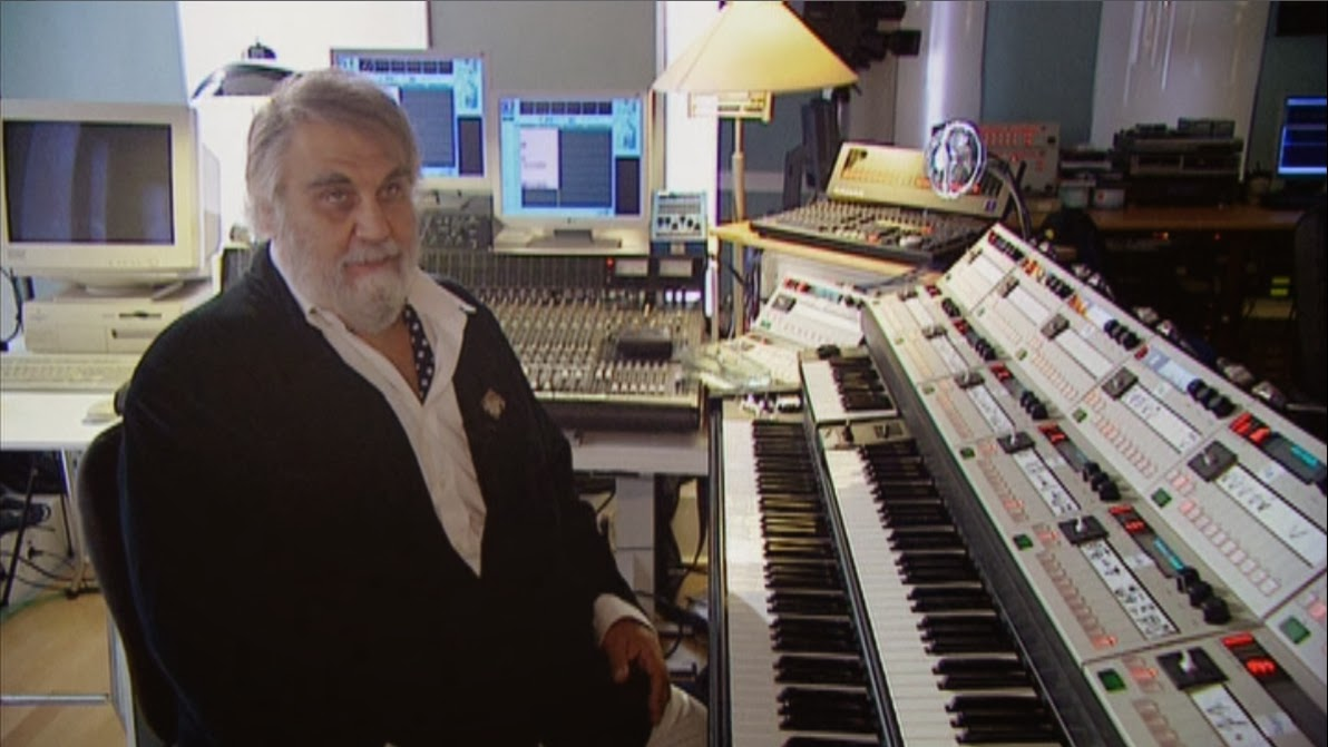 Vangelis-And-The-Journey-To-Ithaka-Documentary-Private-Studio-Synthesizer-Setup-MTM-8-Greece