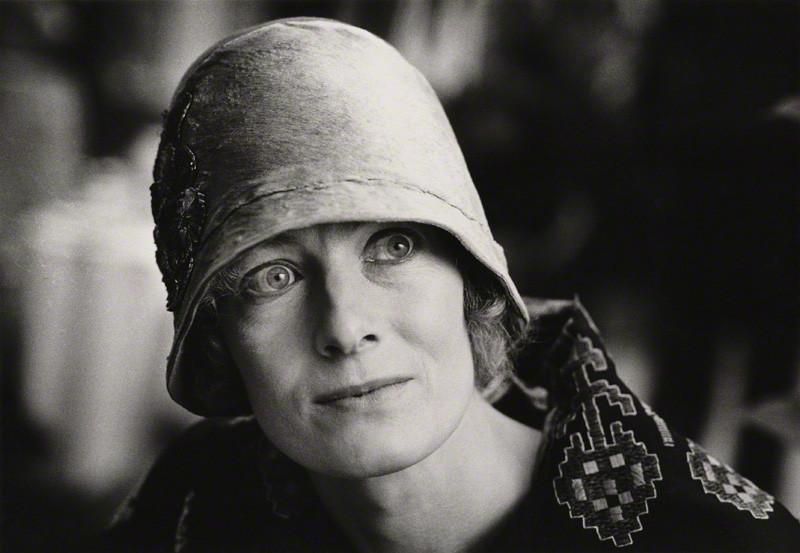 NPG x28631; Vanessa Redgrave as Agatha Christie by Jane Bown