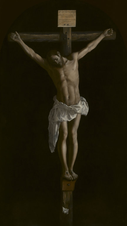 2_Francisco de Zurbaran, The Crucifixion.
