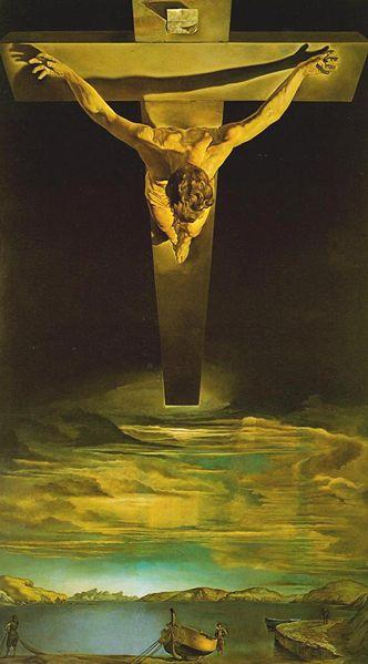 5_Salvador Dali, Christ of Saint John of the Cross.