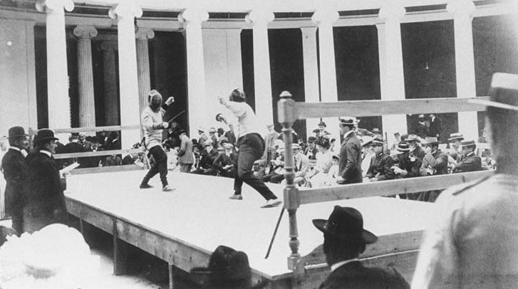 Athens-1896-Fencing-A-match