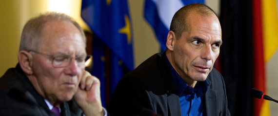 Greek Finance Minister Varoufakis Visits Berlin