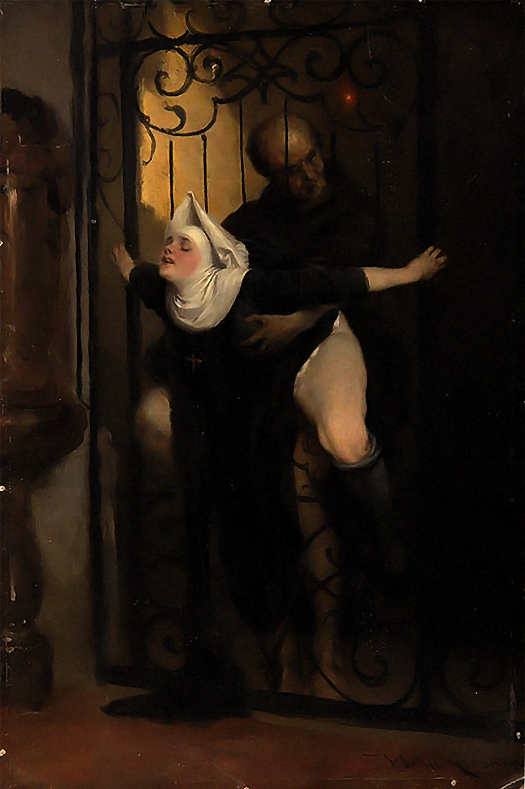 7_Heinrich Lossow, The Sin, 1880.