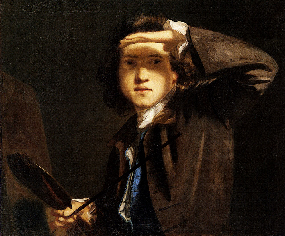 Self portrait by Joshua Reynolds -large