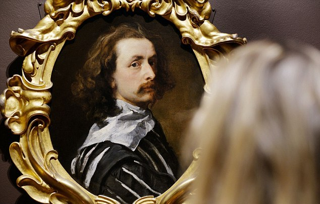 self-portrait by Sir Anthony Van Dyck at the National Portrait Gallery London
