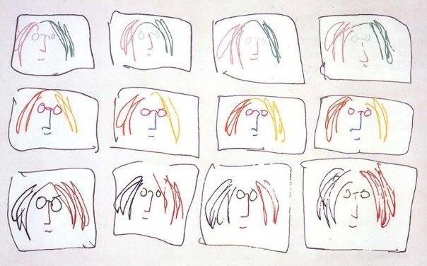 John_Lennon_Multiple_Self_Portrait__1968
