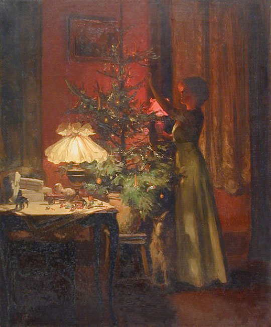 Decorating-the-Christmas-Tree-by-Marcel-Rieder,-1898-540_M