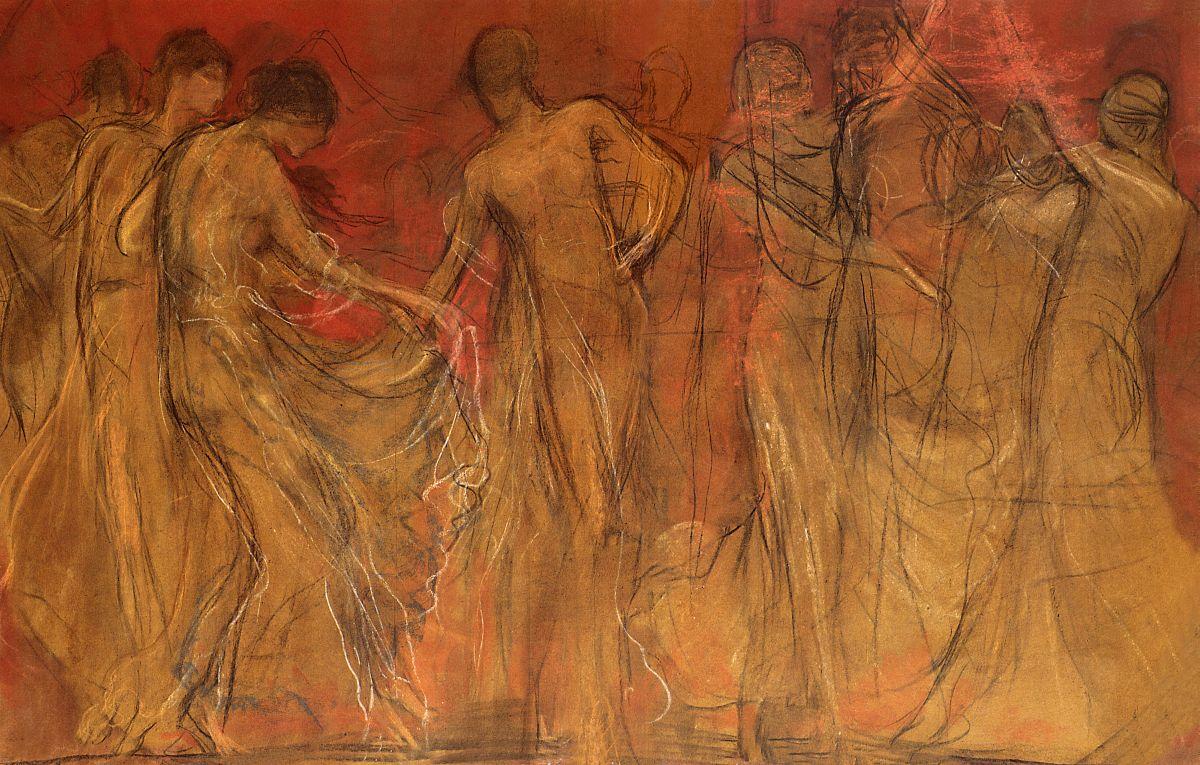 Ο Χορος Των Μουσων 1, Γυζης