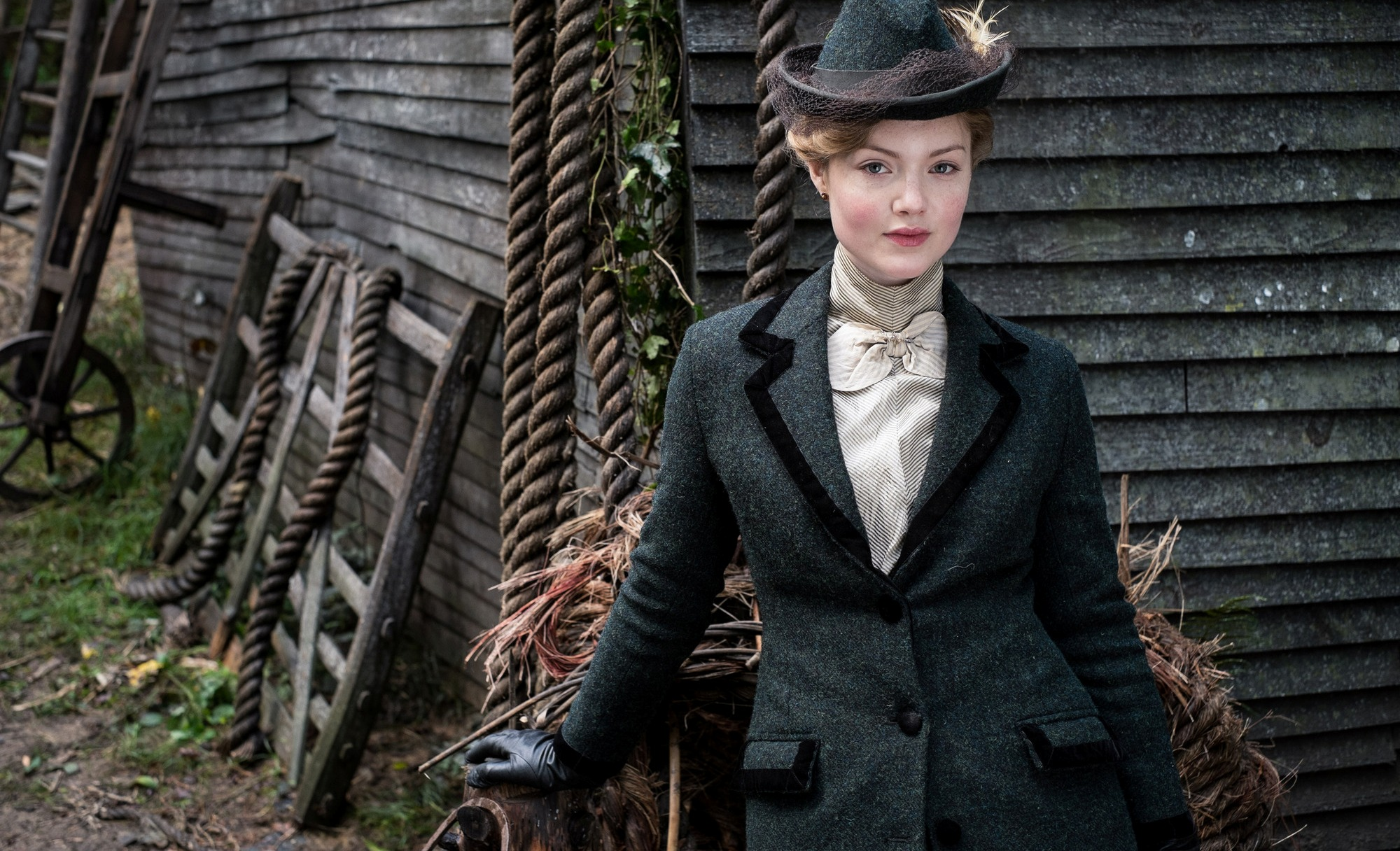 WARNING: Embargoed for publication until 29/08/2015 - Programme Name: Lady Chatterley's Lover - TX: 06/09/2015 - Episode: LCL - Unit Stills (No. n/a) - Picture Shows: Constance Chatterley (HOLLIDAY GRAINGER) - (C) HARTSWOOD FILMS - Photographer: ROBERT VIGLASKY