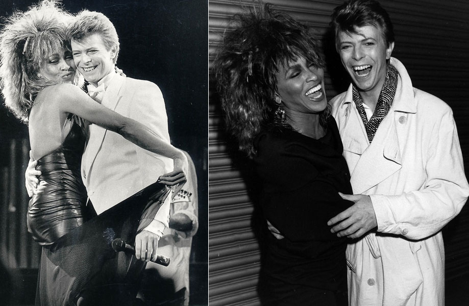 David-Bowie, TINA TURNER