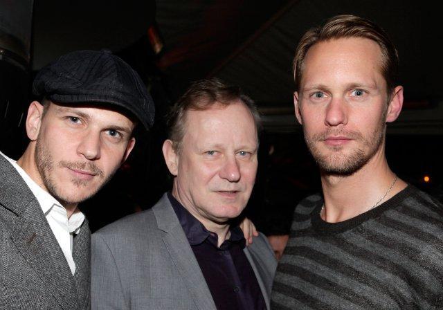 Gustaf, Stellan and Alexander Skarsgård