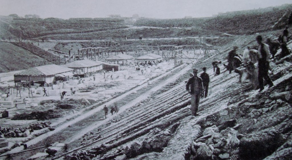 Stadium Construction 1896