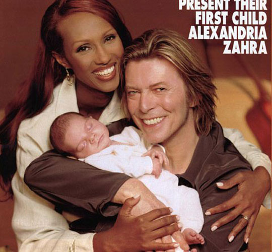 IMAN, DAVID BOWIE, WOMEN,