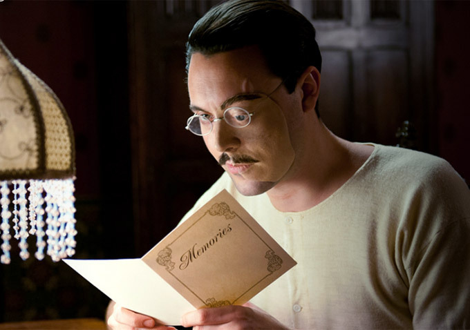 In less horrifying but still strange happenings, Richard Harrow takes Tommy with him to Easter lunch at the Sargorsky's house, where he and a few other ...