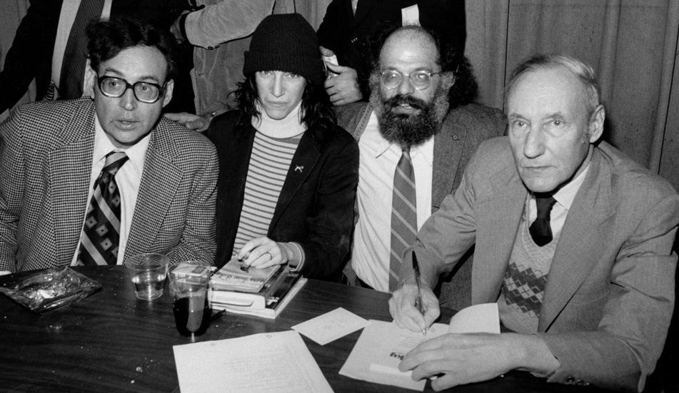 Carl_Solomon_Patti_Smith_Allen_Ginsberg_and_William_S._Burroughs