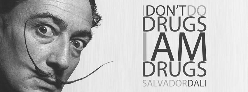 i-dont-do-drugs-i-am-drugs-salvador-dali-facebook-cover