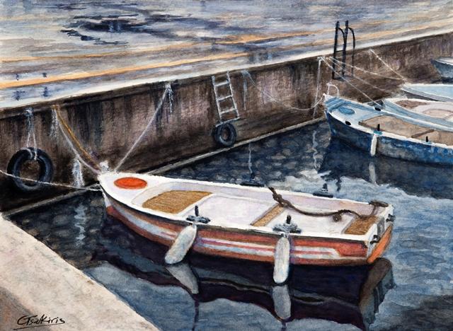 Γιώργος Τσακίρης, ζωγράφος