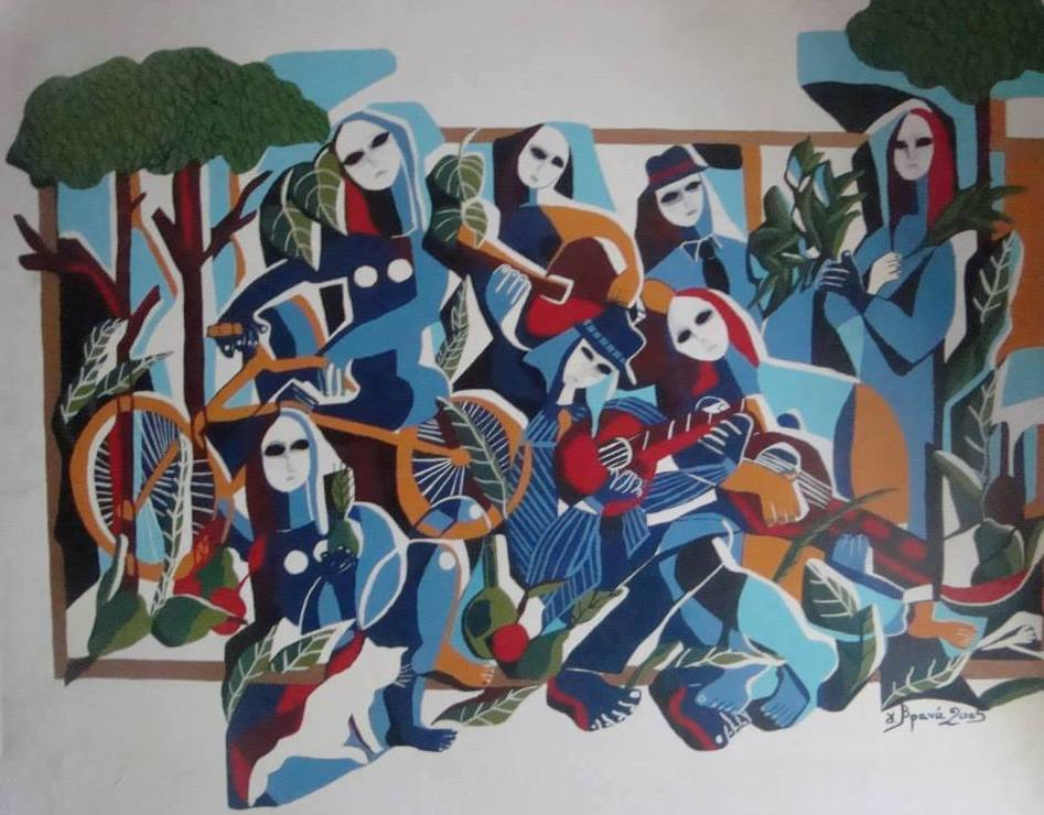 Γιούλη Βρανά, ζωγράφος