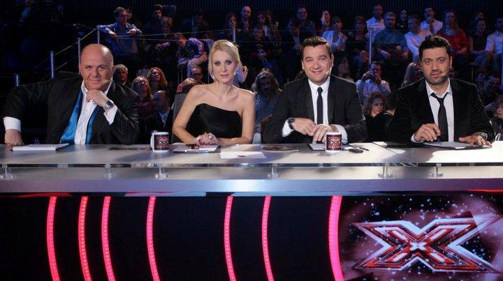 X-Factor, Νίκος Μουρατίδης, Γιώργος Λεβέντης, Θεοφάνους, Γκαγκάκη