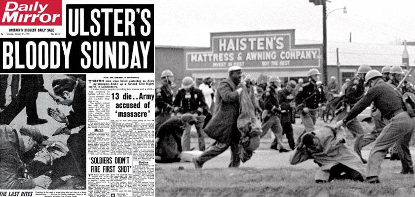 Bloody Sunday, Ματωμένη Κυριακή
