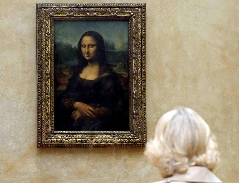 Leonardo Da Vinci, Mona Lisa, Louvre Museum