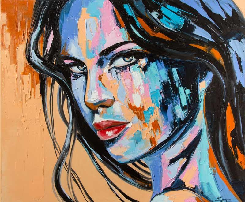Lana Tikhonova, ζωγραφος