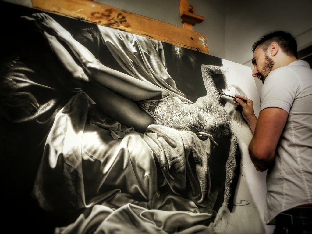 Emanuele Dascanio, ζωγραφική, εικαστικά, υπερρεαλισμός,