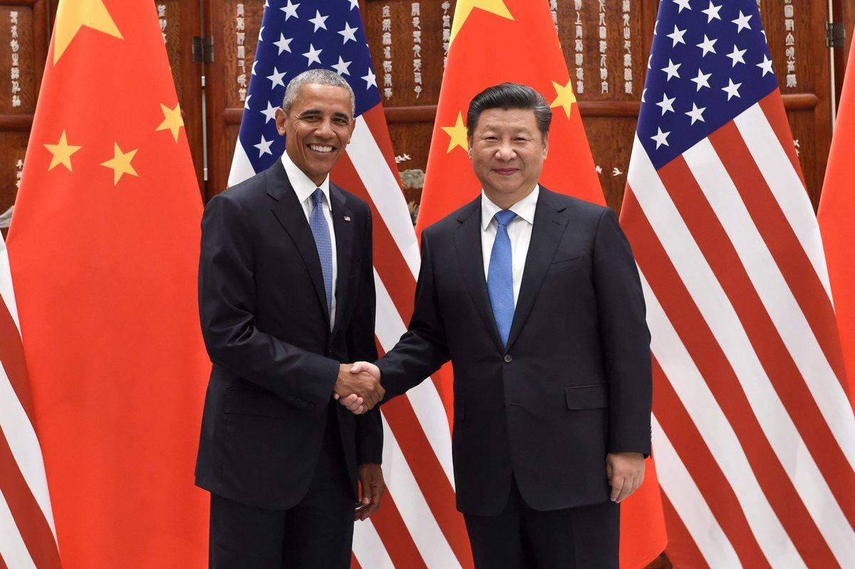 Chinese President Xi Jinping , Barack Obama