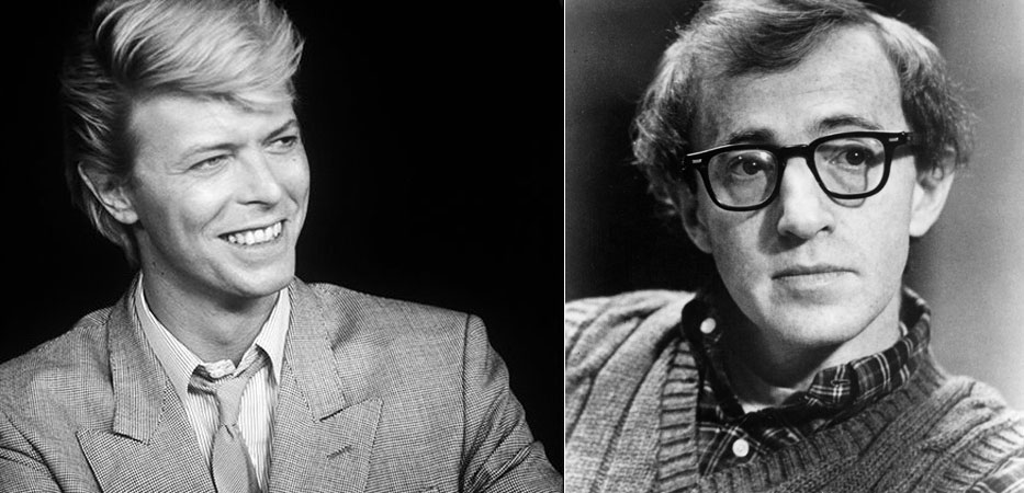 David Bowie, Woody Allen