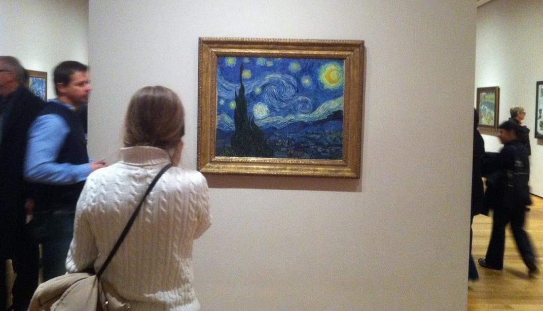 MoMA- Έναστρη νύχτα, Βαν Γκοχ