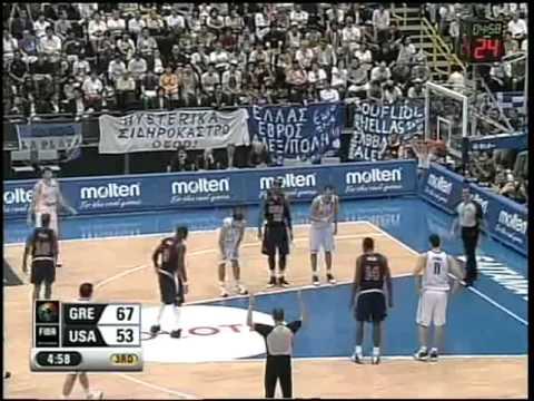 Μπάσκετ, Ελλάδα- ΗΠΑ