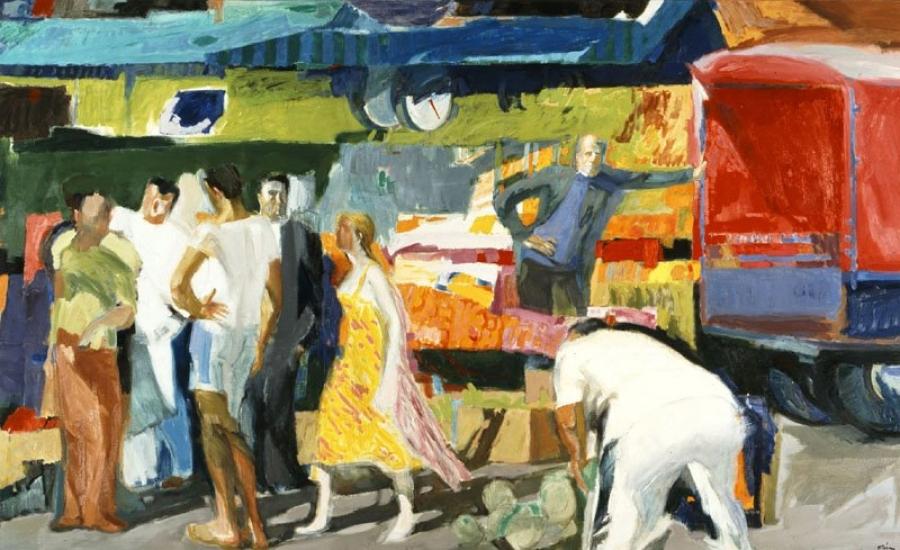 Παναγιώτης Τέτσης, Λαϊκή Αγορά