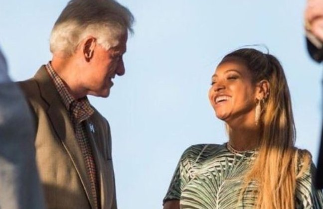 Bill Clinton, Beyonce
