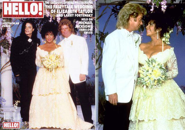 1991-elizabeth Taylor -wedding-at-neverland