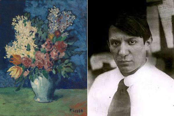 Pablo Picasso, παιδί,
