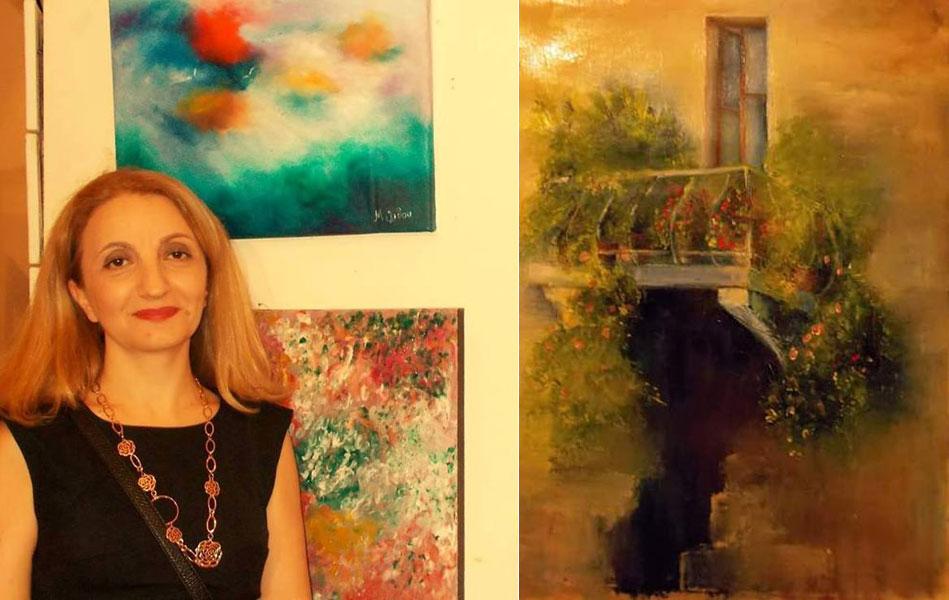 Ίνα Μελίδου, ζωγράφος