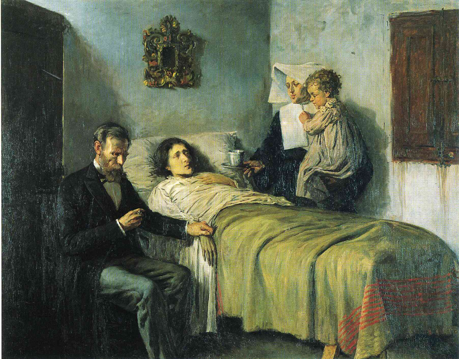 science-and-charity (1897), Pablo Picasso, παιδί,