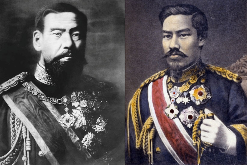 Αυτοκράτωρ Μεϊτζί, Ιαπωνία