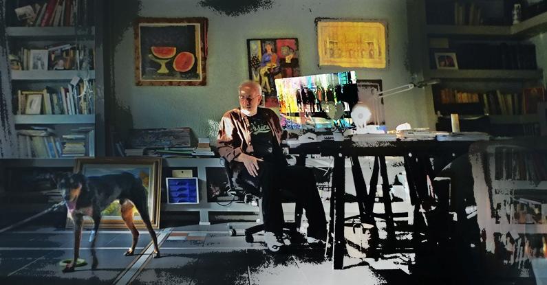 Βαγγέλης Αποστολίδης, ζωγράφος, αρχιτέκτων, εικαστικά