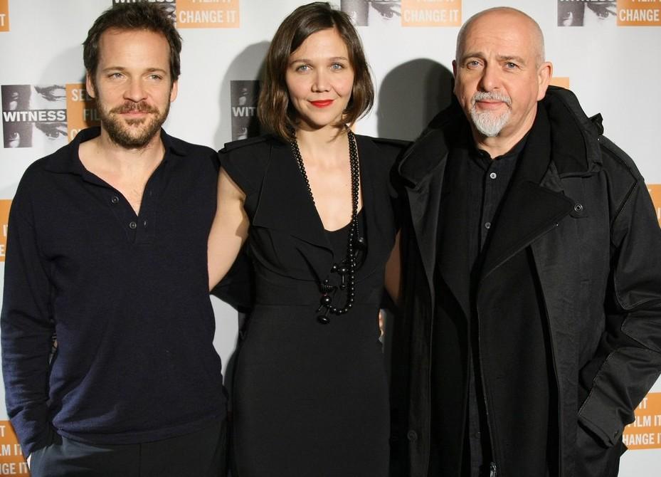 maggie-gyllenhaal, peter-sarsgaard, Peter Gabriel